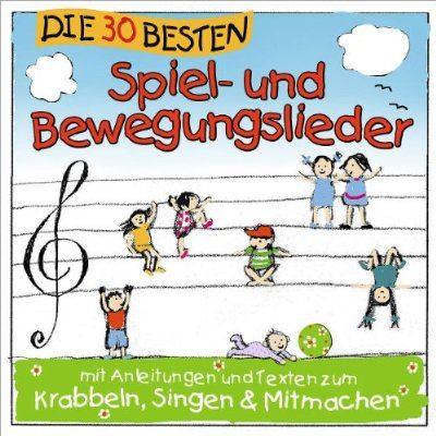 Musik-CD Spiel- und Bewegungslieder