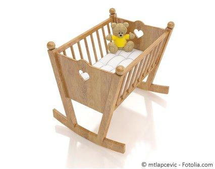 Kinderbett Wiege