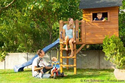 Das ideale Kinder-Spielhaus für den Garten
