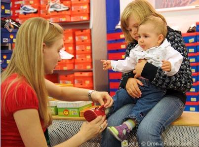 Kinderschuhe: Auf die richtige Größe kommt es an