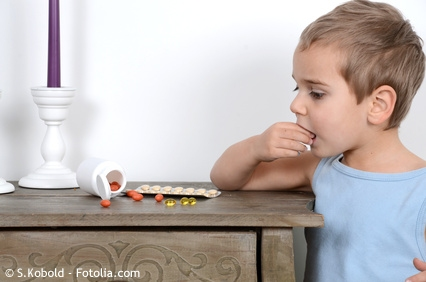 Kinderunfälle in Haushalt und Freizeit