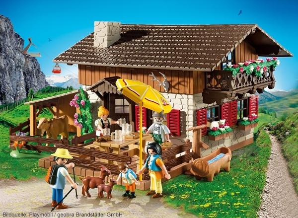Playmobil Bergwelt Almhuette