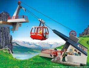 Playmobil Bergwelt Seilbahn