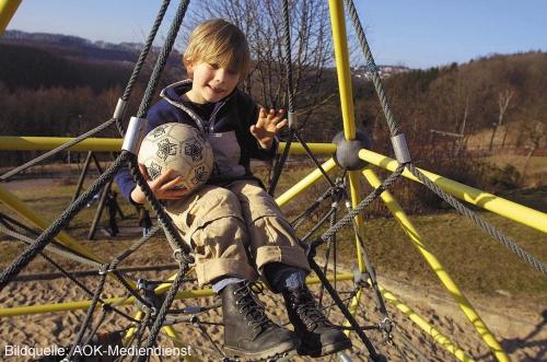 Sicherheit auf dem Kinderspielplatz